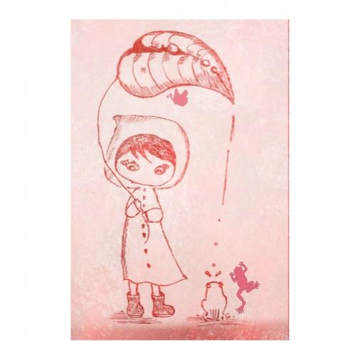Girl'in rain