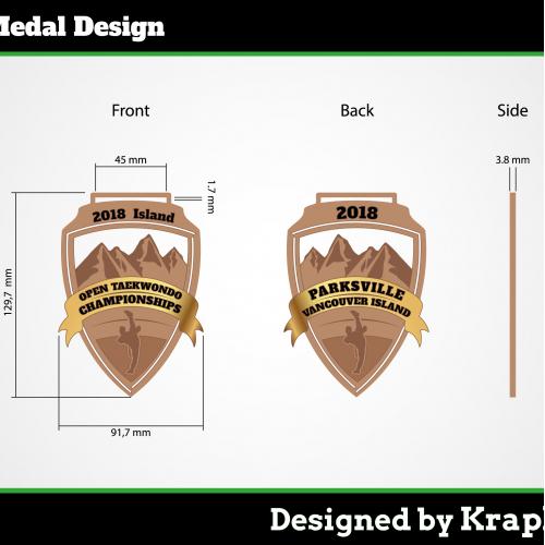 Tekwandoo Medal DESIGN