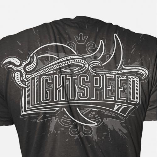 Lightspeed VT T-shirt Design