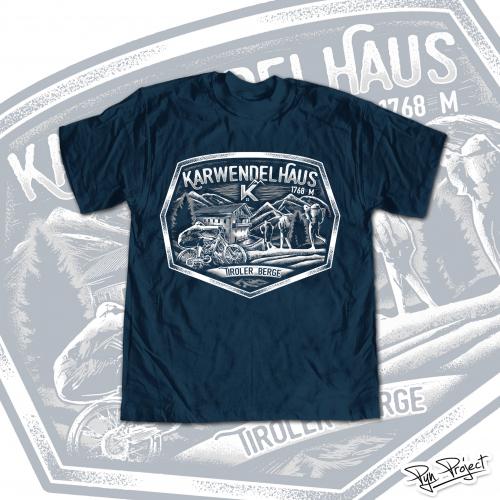 Karwendhaus T-shirt Design Project