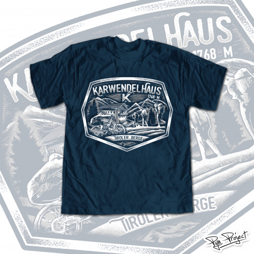 Karwendhaus T-shirt Design Project