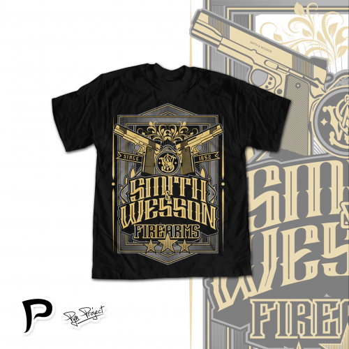 T-shirt design for Smith