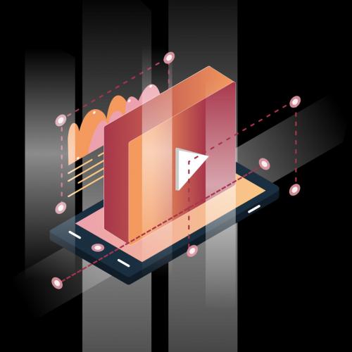 Video Content Illustration
