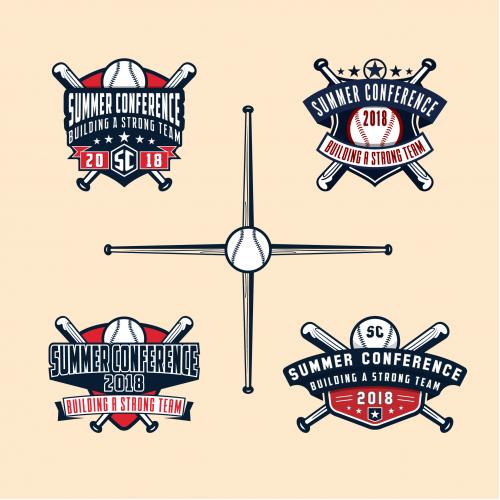 BaseBall Theme Logo Design