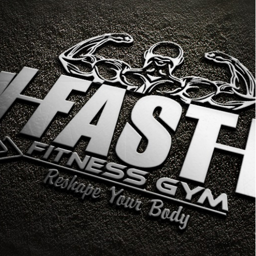 Fast fitness Gym Logo
