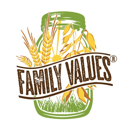 Family Values logo design