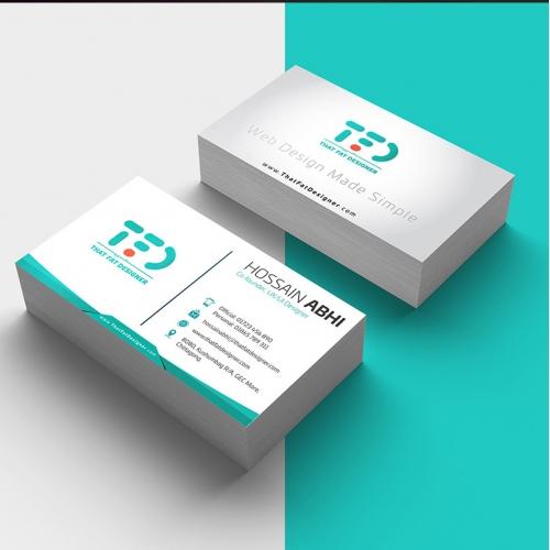 That Fat Designer Business Card