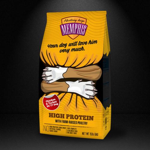 Dog / Cat Food packaging design
