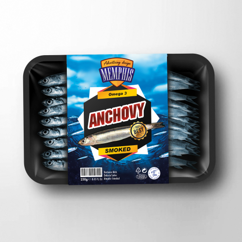 Frozen Anchovy Package design