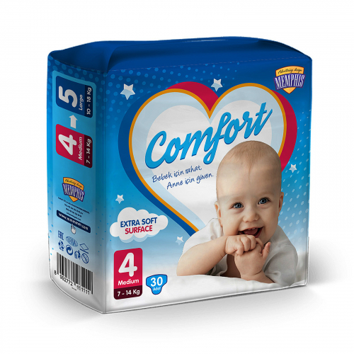 Diapers package design