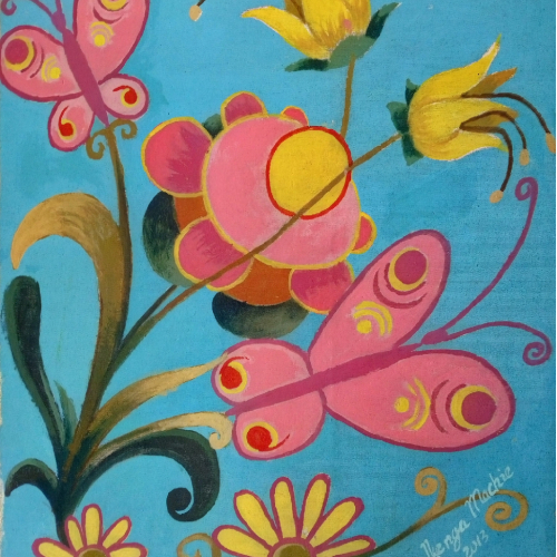 flower and butterfly 5