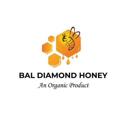Bal Diamond Honey Logo Design