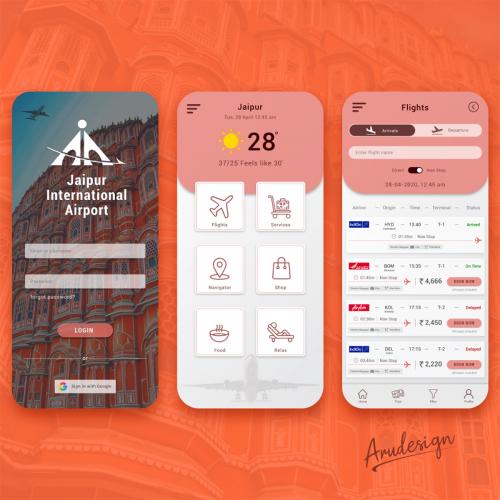 Mobile App - Flight Booking