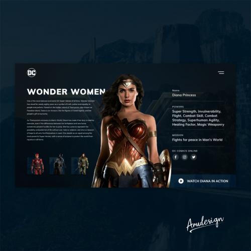 DC-Hero Section