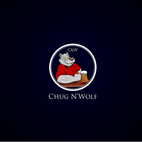 character, wolf, beer,