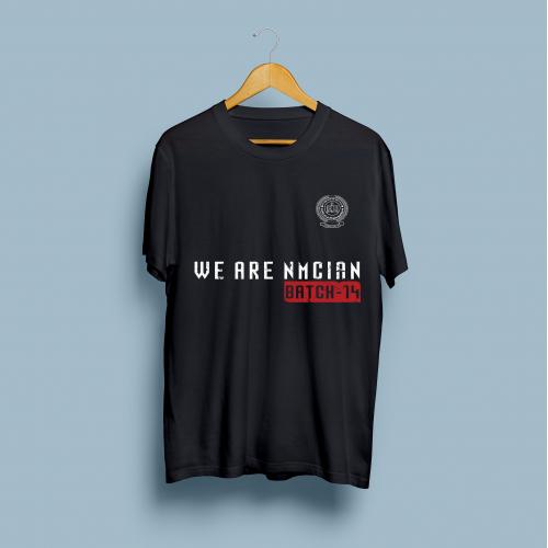 T-Shirt design for a program