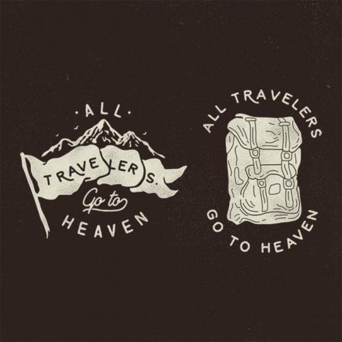 Tshirt Design for Adventure Brand.