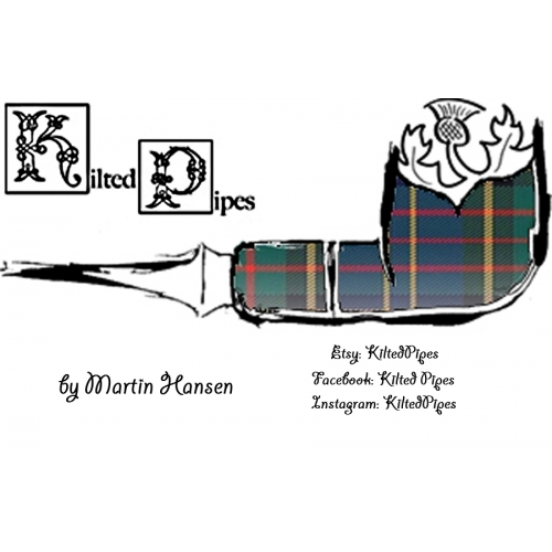 Kilted Pipes Business Card