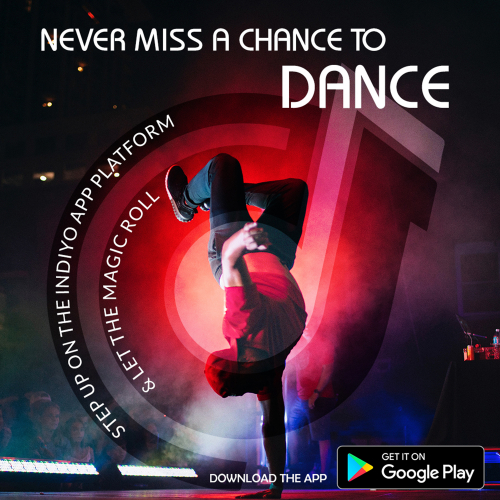 Dance digital banner