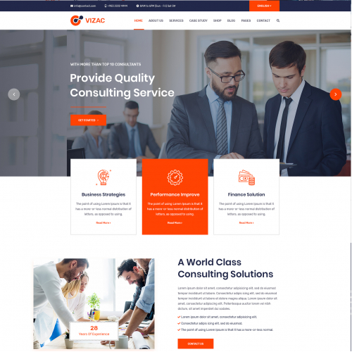 Business Consultation Website
