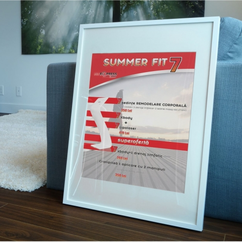 poster design for fitexpress