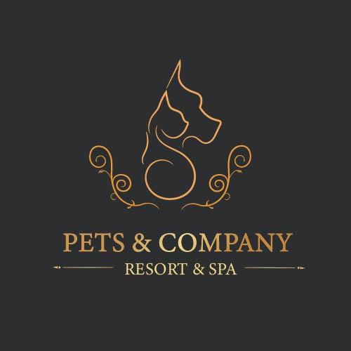 Pet Resort and Spa logo