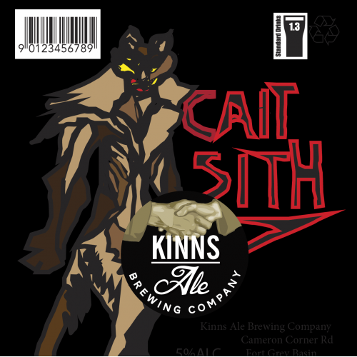 Cait Sith Beer Label