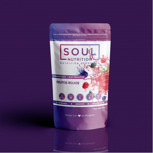 Packaging Design For SOUL Nutritions