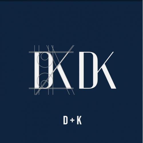 Monogram D   K