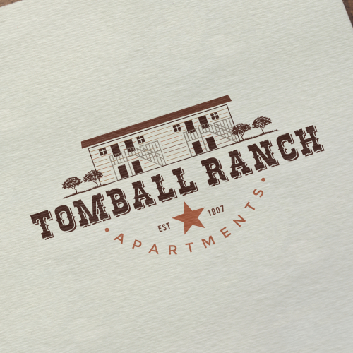 Classic Logo for Tombal Ranch Apartment