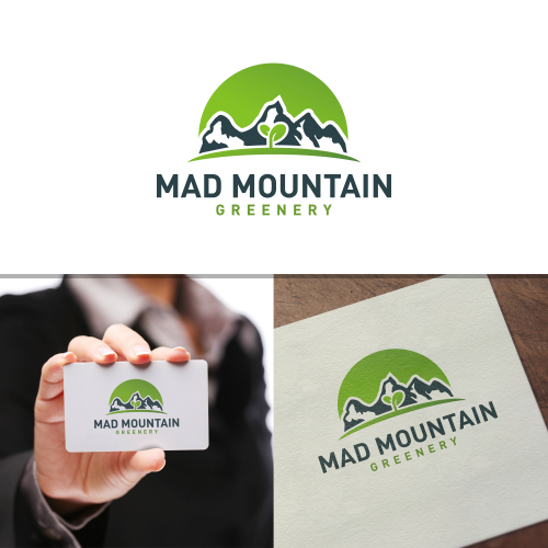 MAD Mountain Greenery entry logo
