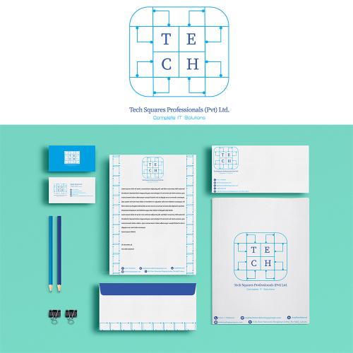 Tech Squares Logo
