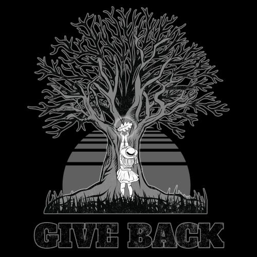 GIVE BACK T-SHIRT DESIGN