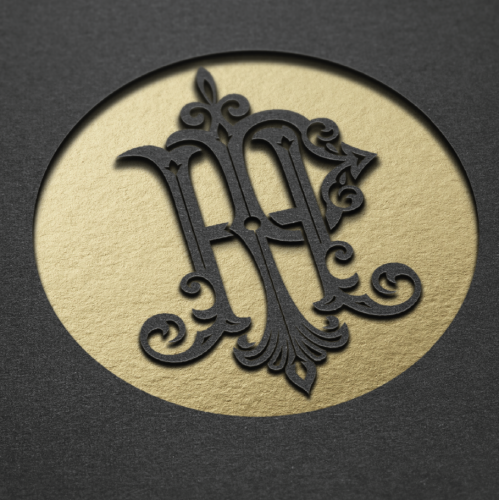 HP luxurious monogram for Sale