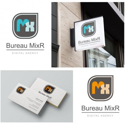 Logo Concept for Bureau MixR