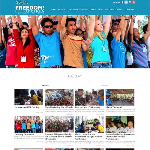Wordpress Developed Website