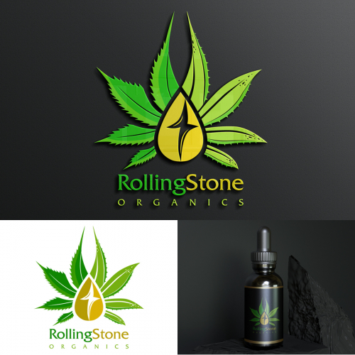 Logo design for a organic oil product