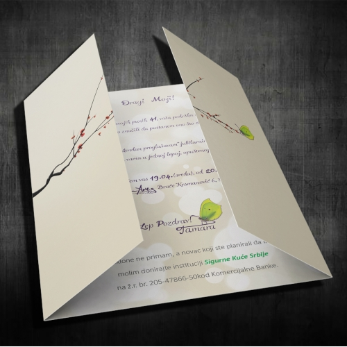 Design Invitation for a birthday