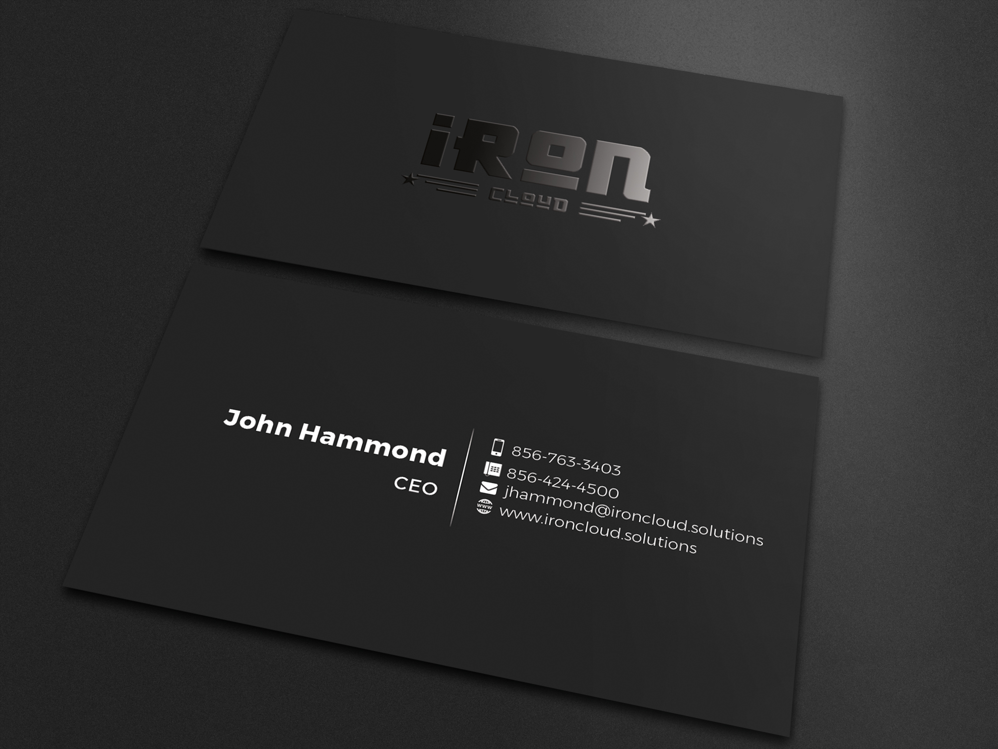 Spot UV Business Card