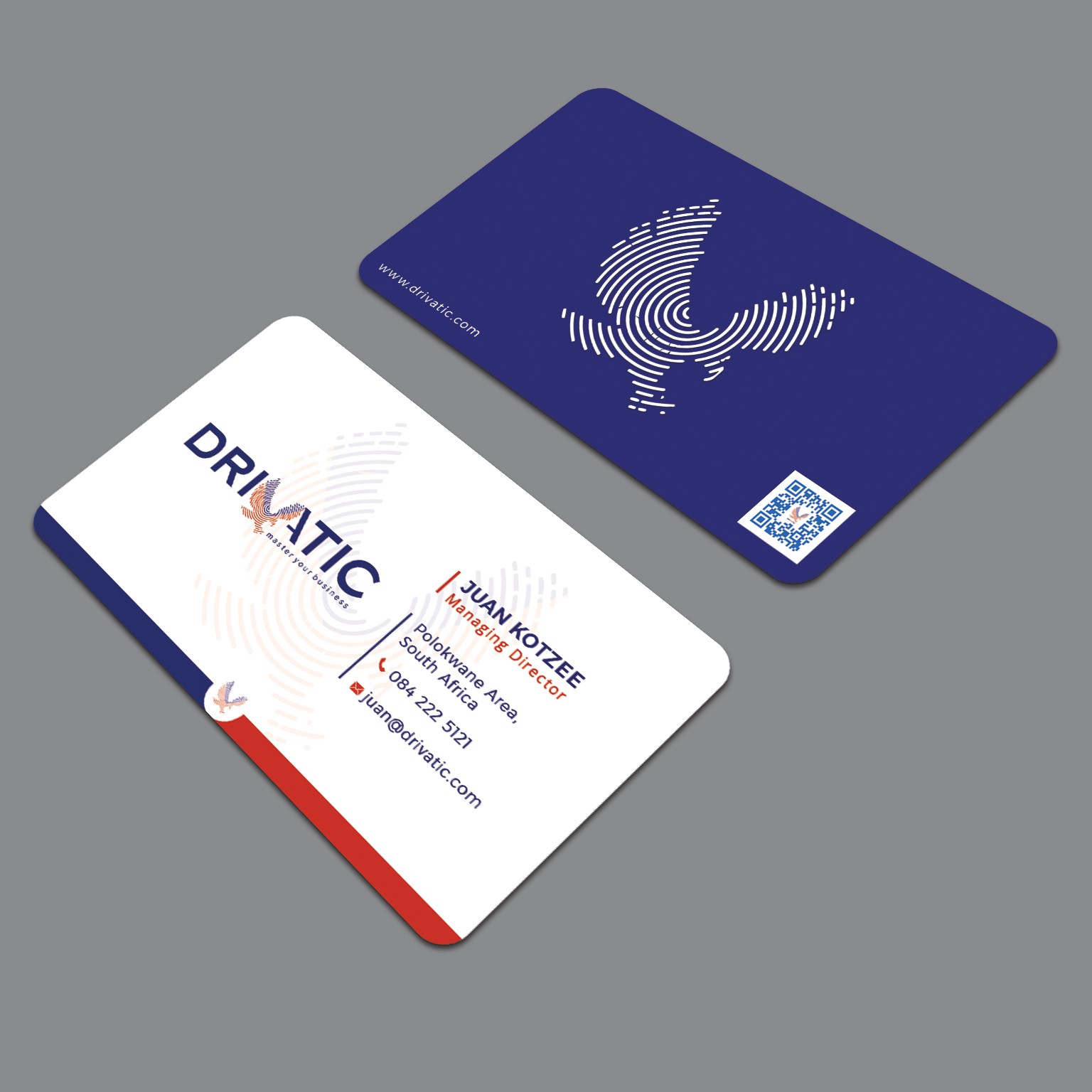 DRIVATIC Business card