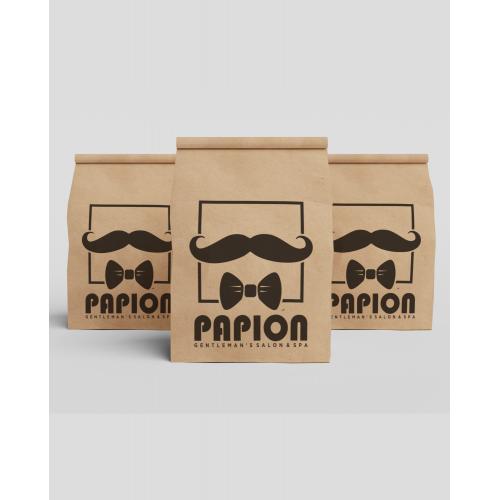 paper bag barber shop