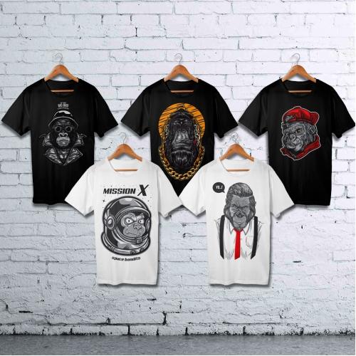 Ape Set Tshirt Designs