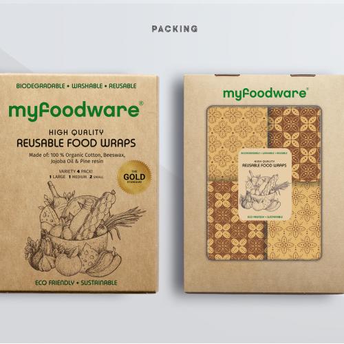Food wraps box design