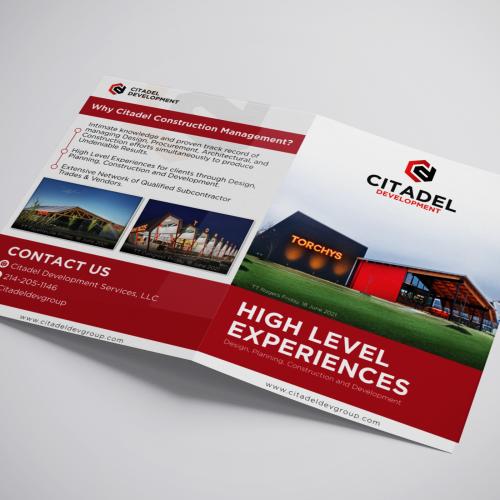 Flyer/Brochure - Citadel Dev Group