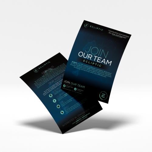 Flyer Design - Ecliptic Corp.