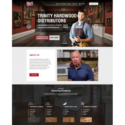 Website Design for Hardwood Distributors