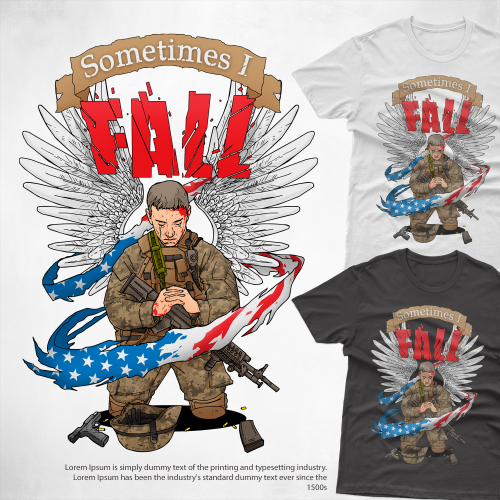 soldier fall
