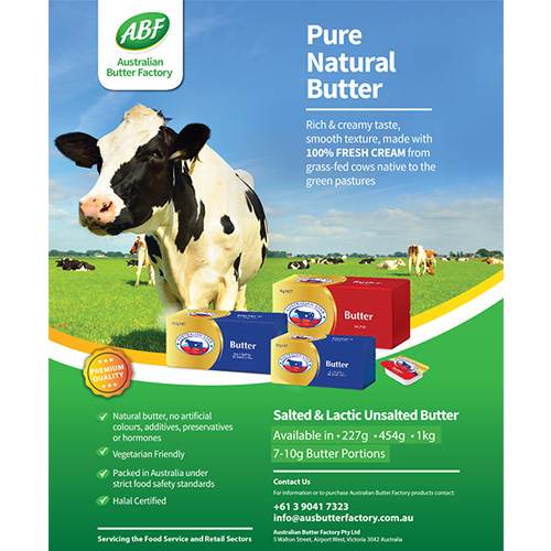 ABF AUSTRALIAN BUTTER COMPANY ADVERTISMENT
