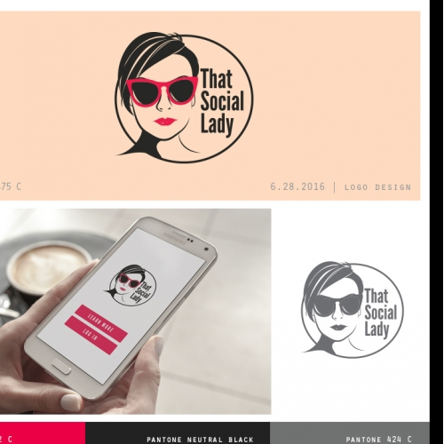That Social Lady Logo