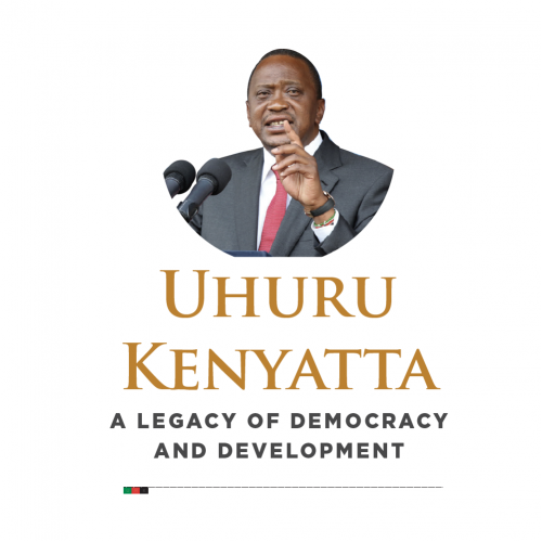 844 pages book for the President of Kenya.